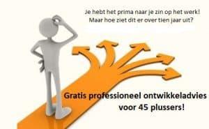 Ontwikkeladvies 45 plussers subsidieregeling voor werkenden, gratis loopbaanadvies Noloc